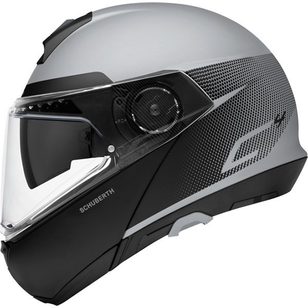 Casco Schuberth C4 Resonance gris mate