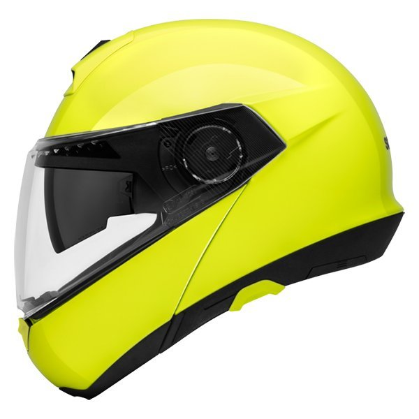 Casco Schuberth c4 amarillo fluor
