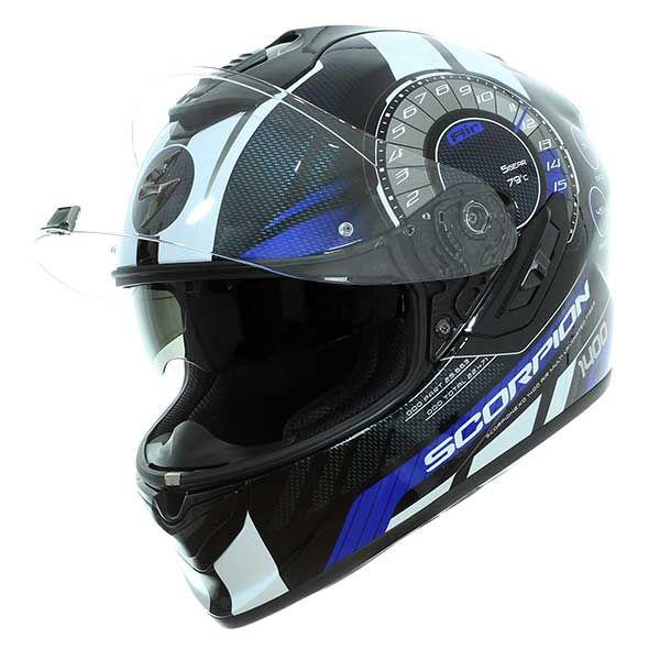 Casco Scorpion Exo-1400 Air Torque Azul