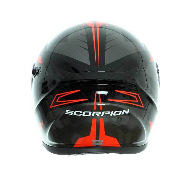 Casco Scorpion Exo-920 Shuttle Negro Rojo