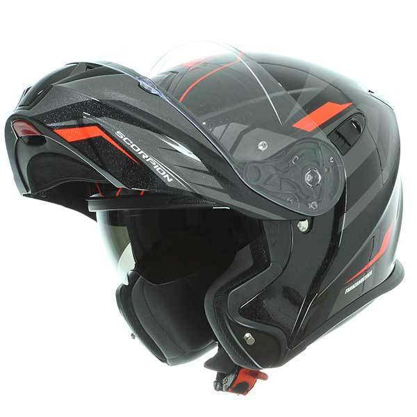 Scorpion Casco de moto Exo 920/Shuttle tama/ño S negro//rojo