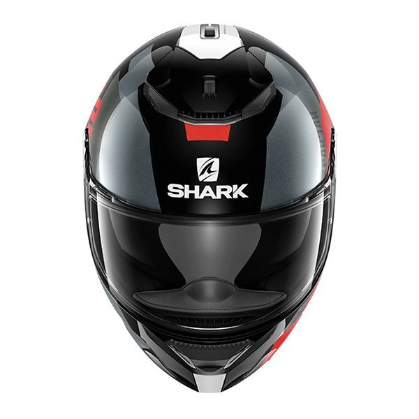Casco Shark Spartan Apics Rojo3
