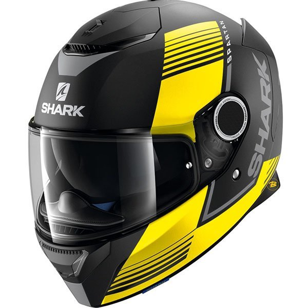 Casco Shark Spartan Arguan Amarillo Mate