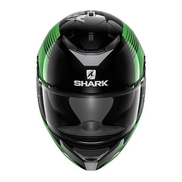 Casco Shark Spartan Arguan Verde3
