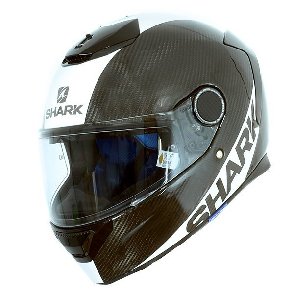 Casco Shark Spartan Carbon Blancoc