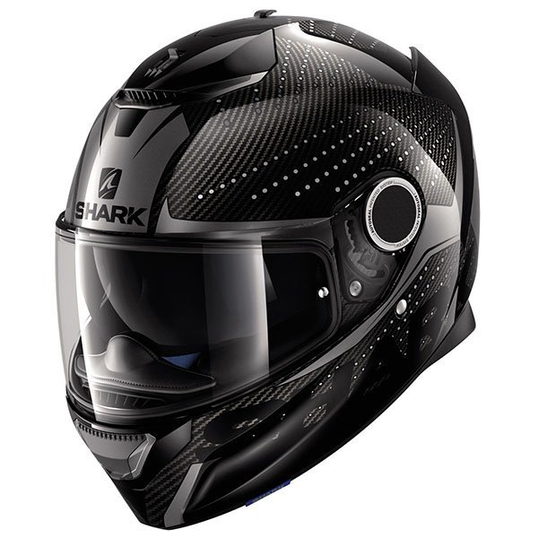 Casco Shark Spartan Carbon Cliff Titanio