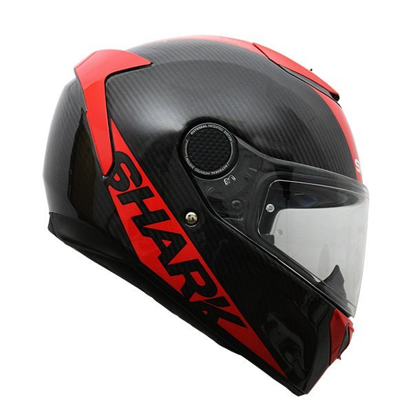 Casco Shark Spartan Carbon Rojo