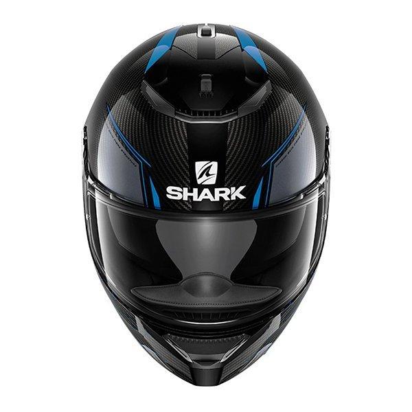 Casco Shark Spartan Carbon Silicium Azul3