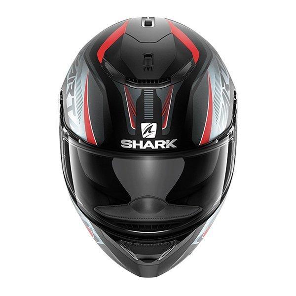 Casco Shark Spartan Karken Rojo Mate3