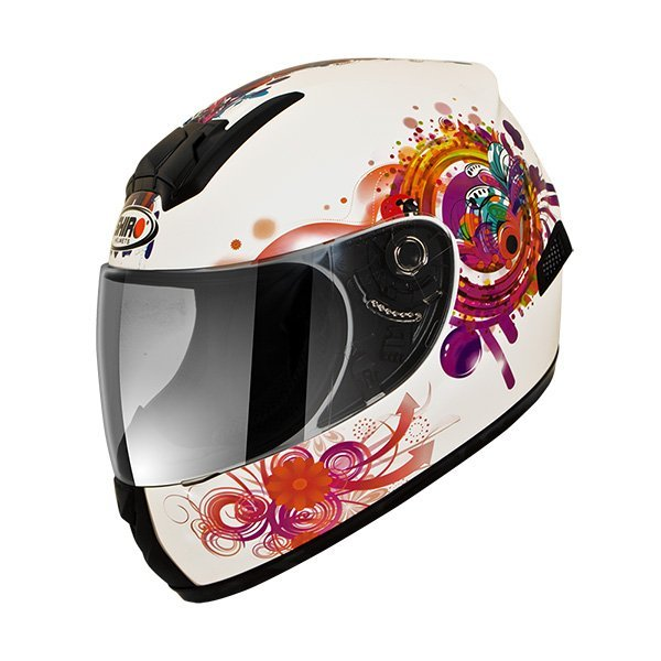 Casco Shiro SH829 Princess Kids blanco