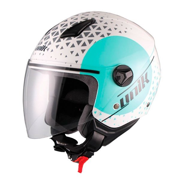 Casco Unik Cj-16 Oracle Azul Turquesa