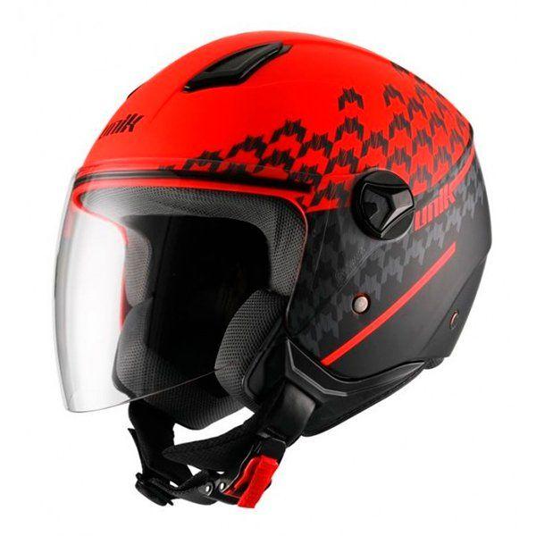 Casco Unik Cj-16 Trend Rojo Mate