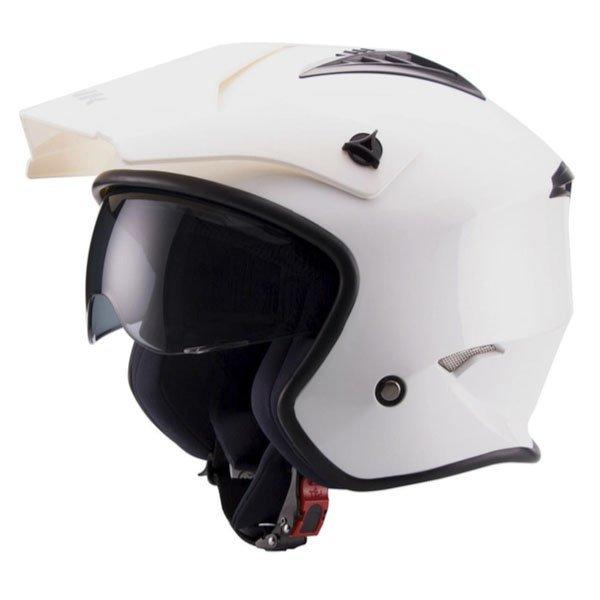 Casco Unik Jet-Trial Blanco