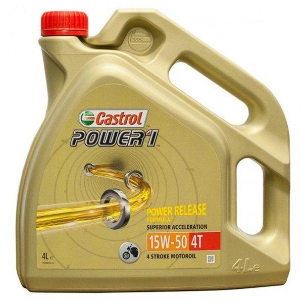 Castrol Power1 15w50 4T 4L 01