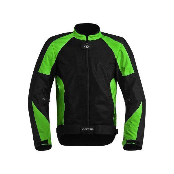 Chaqueta Acerbis Ramsey Negro Verde