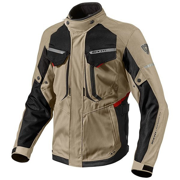 Chaqueta Revit Safari 2 Marron Negro