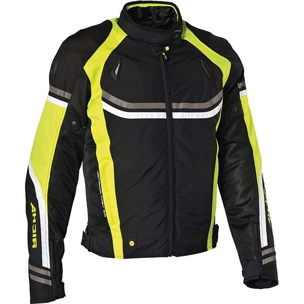 Chaqueta Richa AirStream Negro Amarillo
