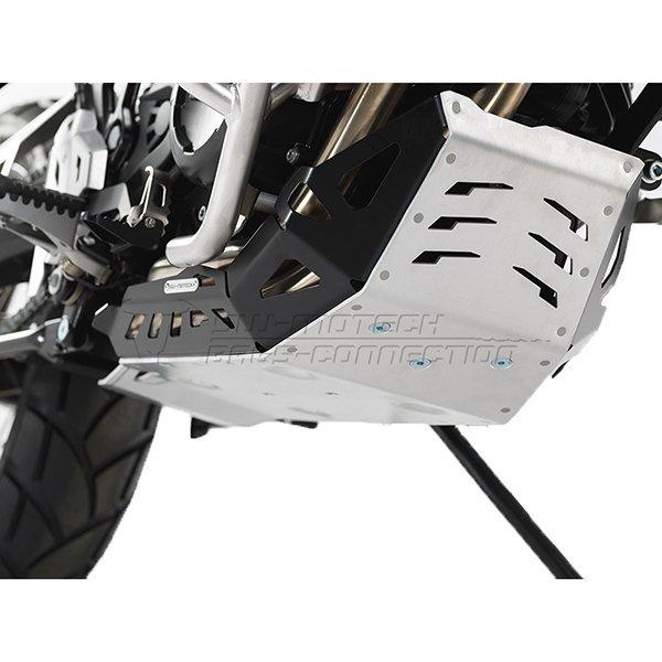 Cubrecarter SW Motech F700GS plata y negro