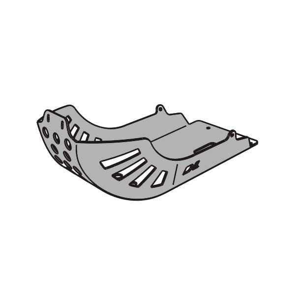 Cubrecarter SW Motech Vstrom 1000 2001-2007 Negro