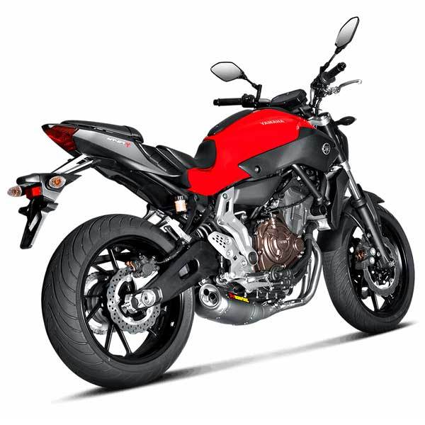Escape Completo Akrapovic MT07 2014 SY7R2AFC