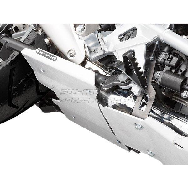 Extension de cubrecarter SW Motech R1200 plata