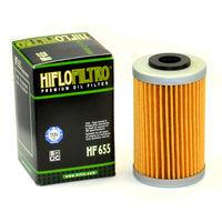 Filtro de Aceite Hiflofiltro HF655