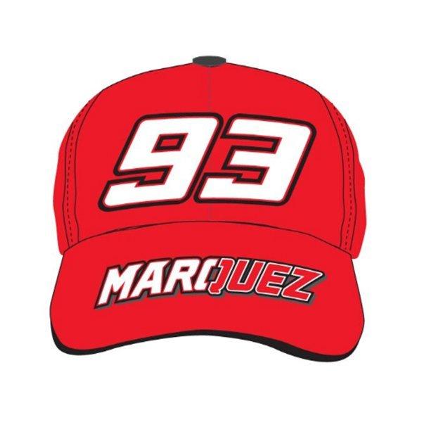 Gorra Marc Marquez Baseball Roja