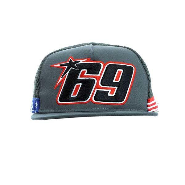 Gorra Nicky Hayden 69 Gris