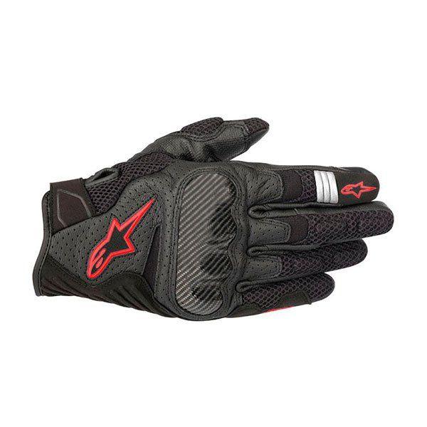 Guantes Alpinestars Smx-1 Air V2 Negro Rojo