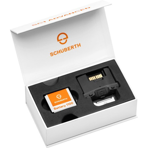Intercomunicador SC1 Advance para Schuberth C4 y R