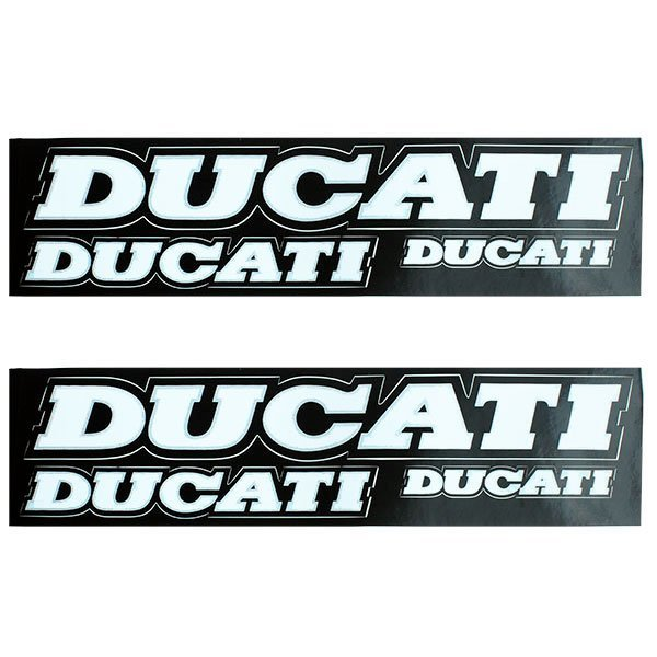 Kit Adhesivos Ducati 27.5 x 3.8cm - 16x2.2cm - 9.5