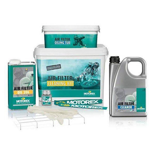 Kit Mantenimiento Filtro de Aire Motorex 1L 4L