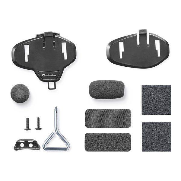 Kit Soporte casco manos libres Interphone