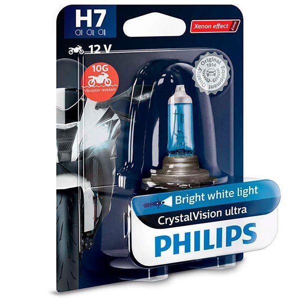 Lampara Philips Halogena H7 CrystalVision
