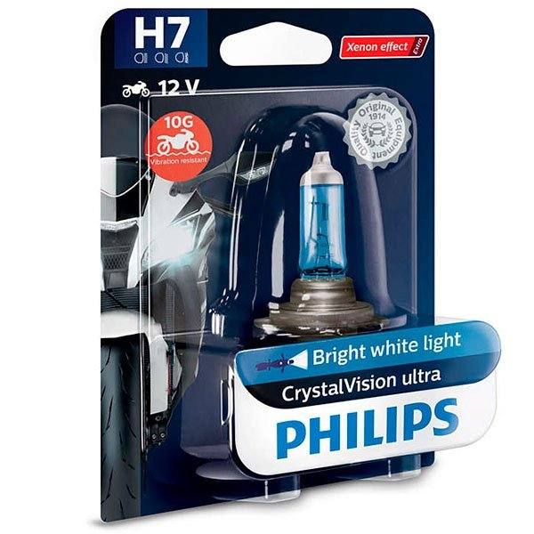 Lampara Philips Halogena HS1 CrystalVision