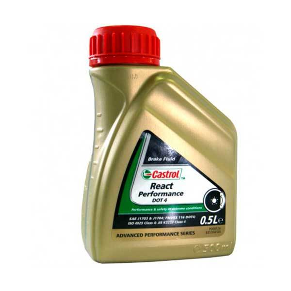 Liquido Frenos Castrol React Perfomance Dot4 500ml