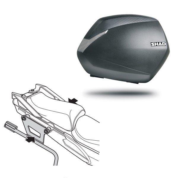 Maletas laterales Shad SH36 para MT09 Tracer
