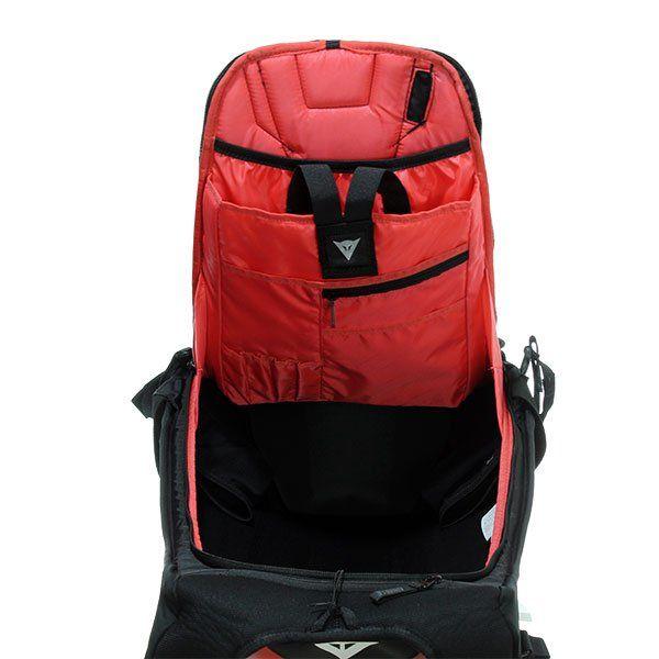 Mochila Moto Dainese D-Mach Rojo Negro
