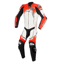 Mono Alpinestars GP Plus V2 blanco negro rojo