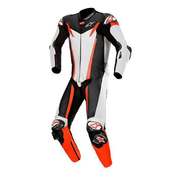 Mono Alpinestars GP Tech V3 1 Pieza Negro Blanco R
