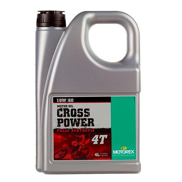 Motorex 10W60 Cross Power 4T 4L