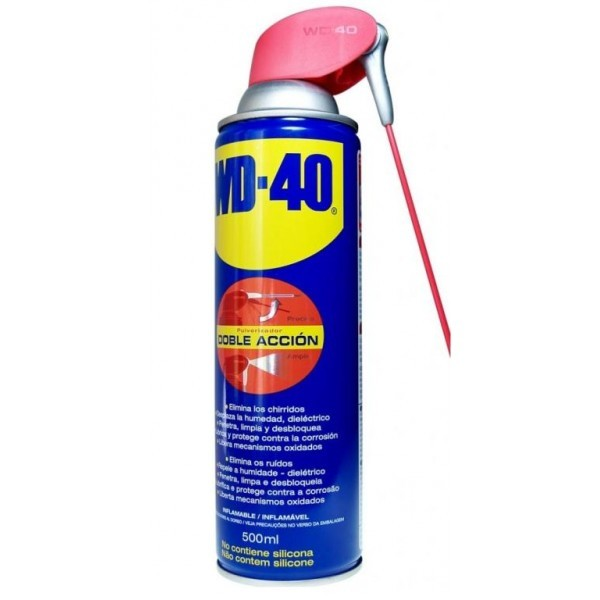 Multiusos Wd40 Doble Acción 500ml