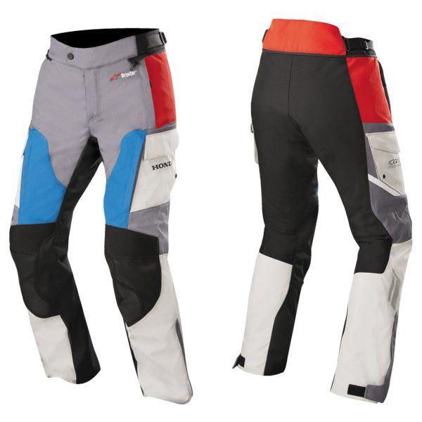 Pantalon Alpinestars Andes V2 Honda Gris Rojo Azul 169 00