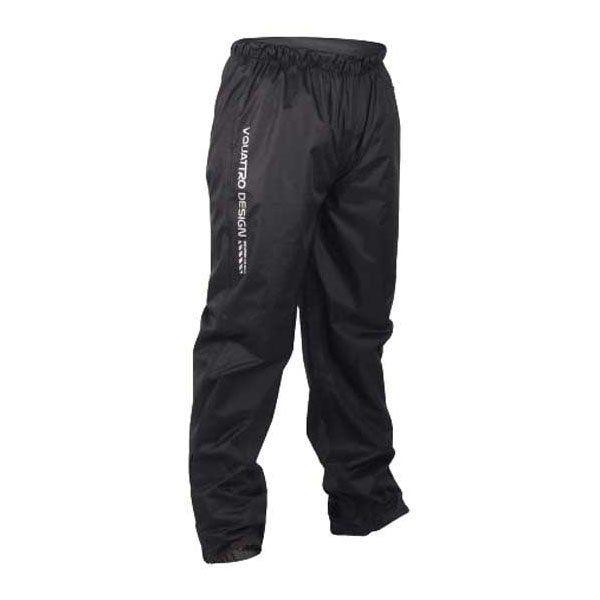 Pantalon Vquattro Impermeable Arcus Negro