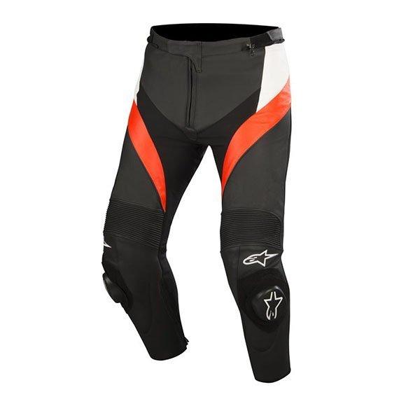Pantalon alpinestars Missile negro blanco rojo