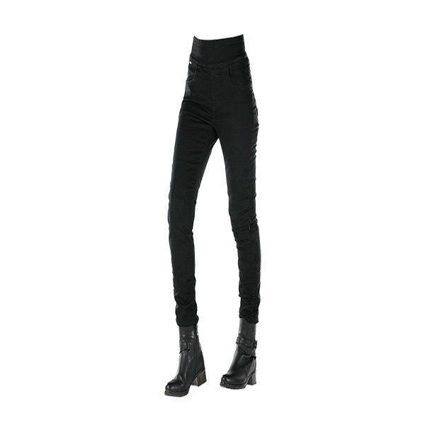 Pantalones Leggins Overlap Lady Jane Negro