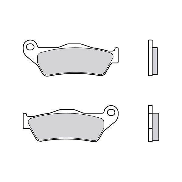 Pastillas Brembo 07BB2809 carbon ceramico
