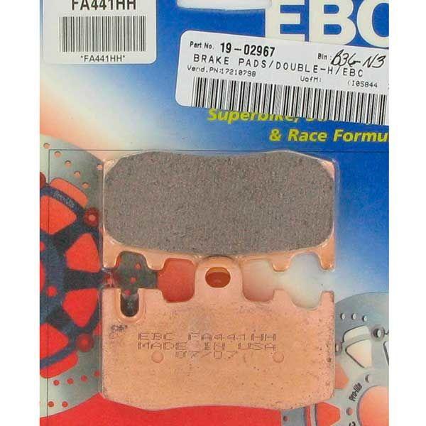 Pastillas de Freno EBC FA441HH Sinterizada