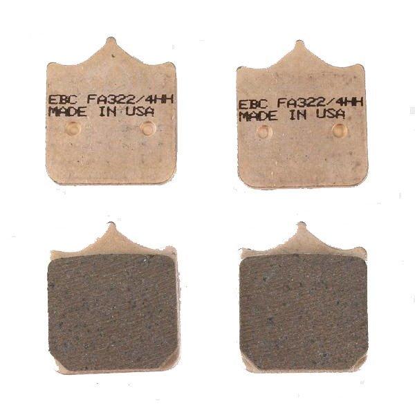 Pastillas de Freno EBC FA322-4HH Sinterizada