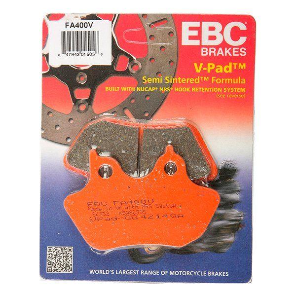 Pastillas de Freno EBC FA400V semi-sinterizadas